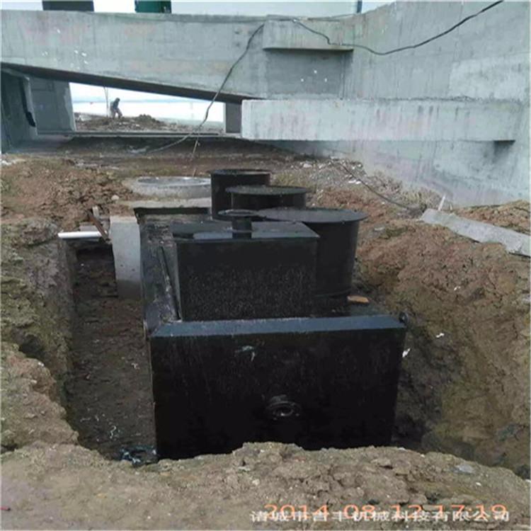 餐饮废水处理设备工作原理与工艺说明