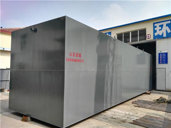 豆制品污水处理设备主要构筑物技术说明