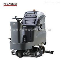 煙台大型駕駛式洗地機GM110BTR80平度洗掃機