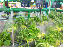 超市蔬菜喷雾型加湿设备厂家