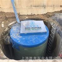 智能型一体化地埋式水利工程泵站