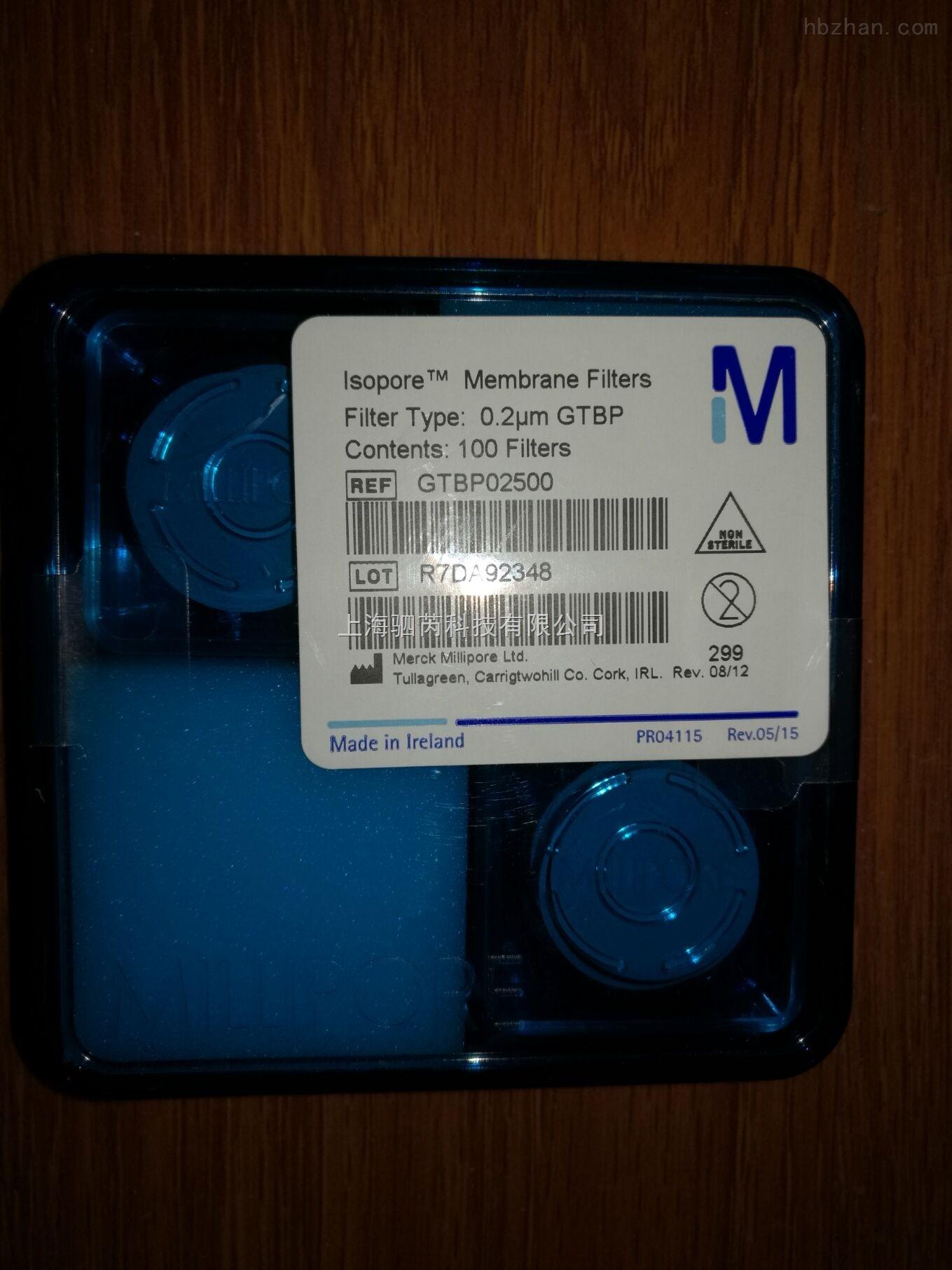 Millipore黑色聚碳酸酯滤膜 25mm*0.2um