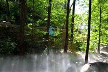 高压微雾加湿机丨假山人造雾