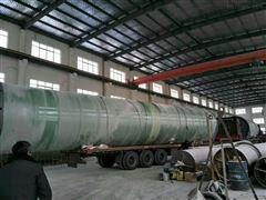 晋城地埋式一体化泵站30000立方