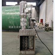 一体化泵站配套 无鼓 不锈钢 粉碎型格栅