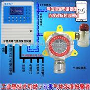 冷库机房氨气浓度报警器,可燃性气体探测器云监控