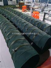 散装软连接 帆布伸缩布袋水泥厂电厂专用