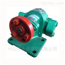 润滑油泵 托架式齿轮油泵