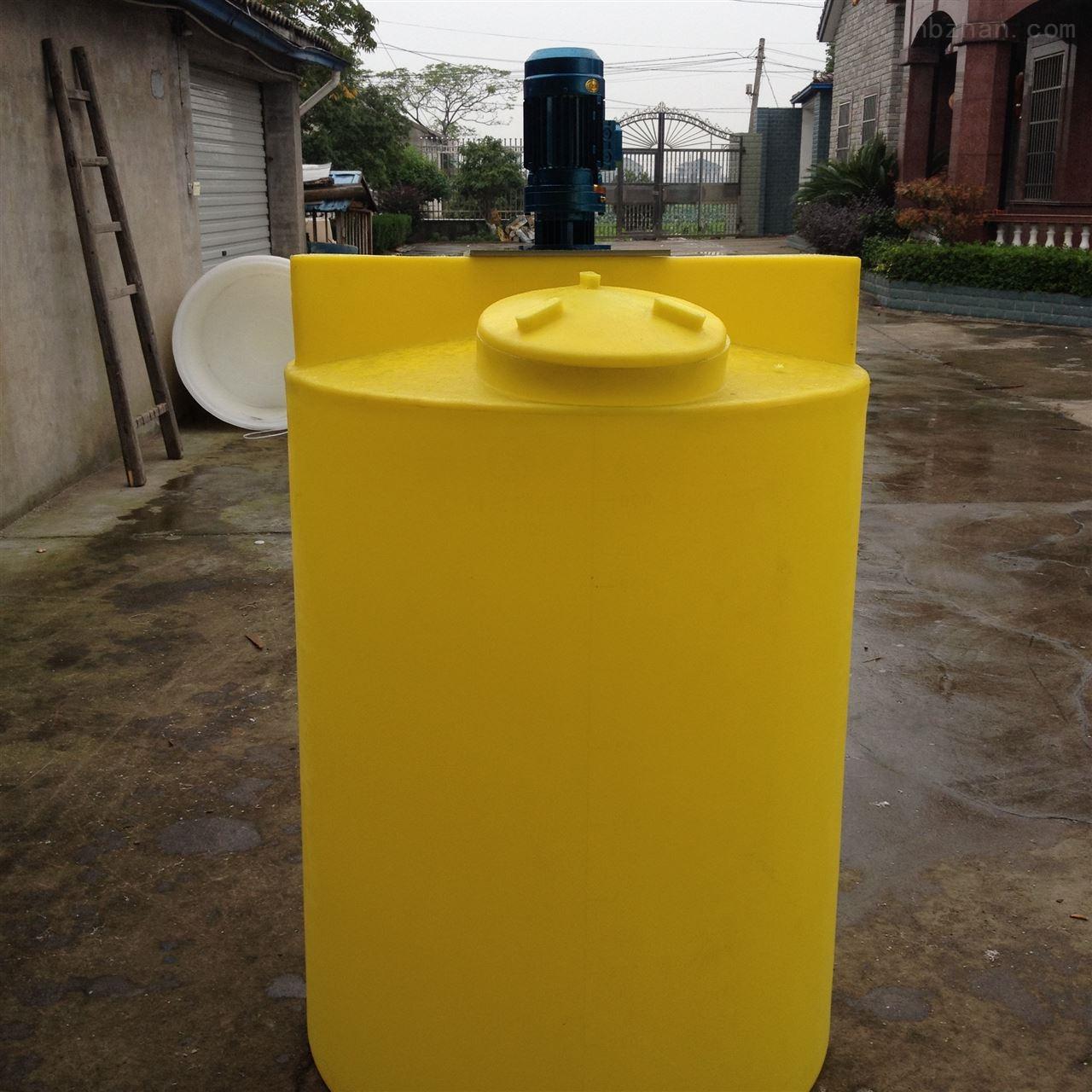 金华加厚500升PAM溶药桶价格