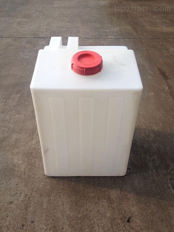 一體成型方形加藥箱 PE方形攪拌桶200L廠家供應