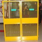 施工建筑双扇电梯防护门