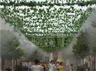 旅游区景区景观雾化人工造雾系统工艺流程