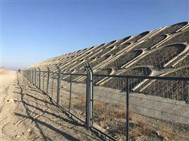 铁路桥下防护栅栏高铁网