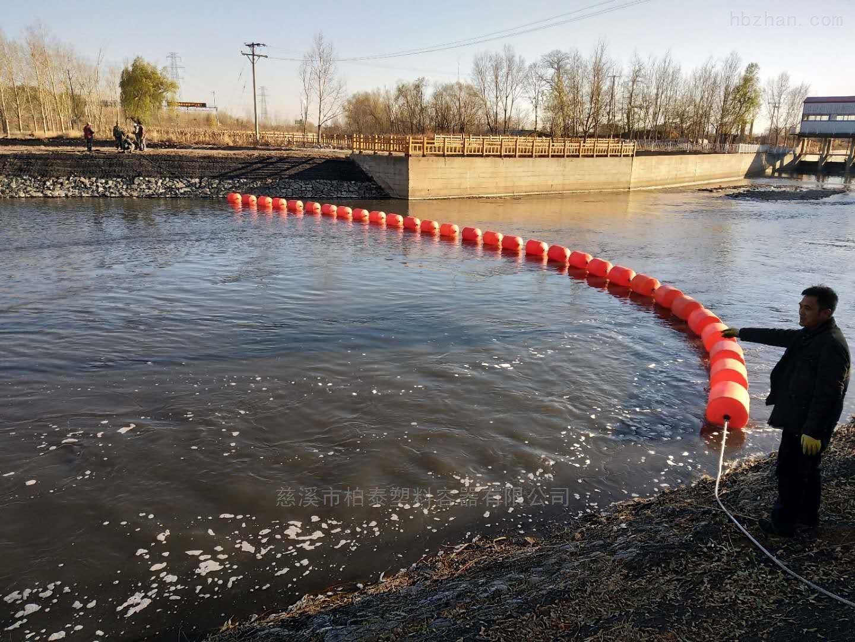 河道搞环保拦垃圾浮筒拦截浮筒厂家
