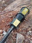 泸州岩石液压开裂棒静态分裂机破石成本