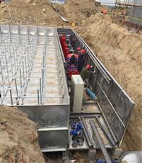 河南新乡地埋箱泵泵站安装周期短
