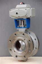 Q940F-16 DN100上海湖泉V型电动球阀
