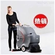 聊城水泥地麵專用洗地車 聊城車間用擦地機