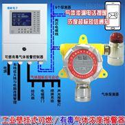 化工厂仓库二氧化硫泄漏报警器,煤气报警器联网型监测