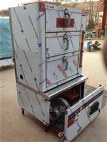 新型节能醇油蒸饭车、甲醇燃料双门蒸饭柜