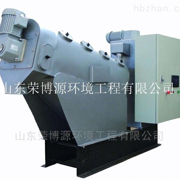 污泥专业处理设备叠螺压滤污泥脱水机价格