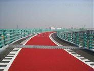 青岛市海绵城市彩色透水地坪的道路铺装概念