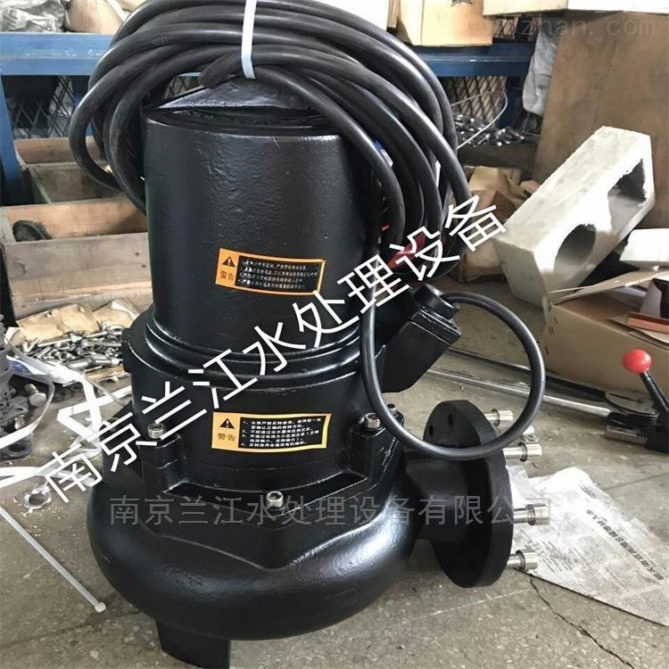 WQ型污水提升泵安装注意事项