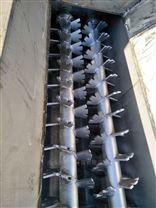 南阳卧式双轴螺旋式粉尘加湿搅拌机特点