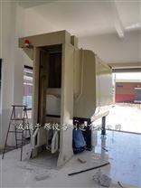 水平式垃圾压缩贮存机