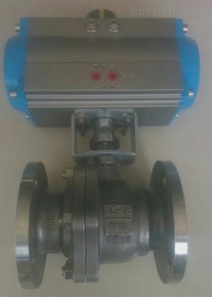 2205气动球阀Q641F-16DN65