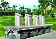 液压提升地埋式垃圾桶 液压提升地埋式垃圾箱