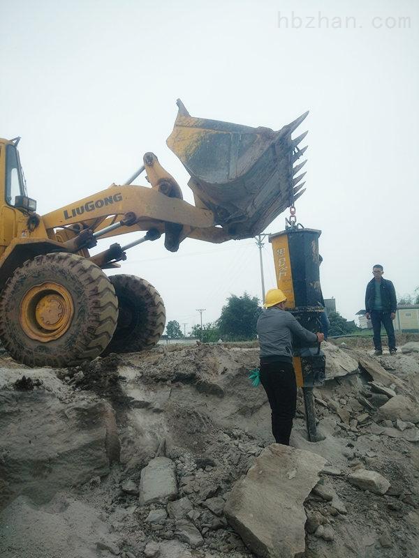 梧州市房屋建设土石方开挖静态劈石机施工效率快