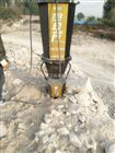 YGF湖南湘潭房屋建设土石方开挖静态劈石机利润翻倍