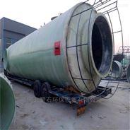 脱硫塔安装玻璃钢喷淋管/浆液管外壁管道
