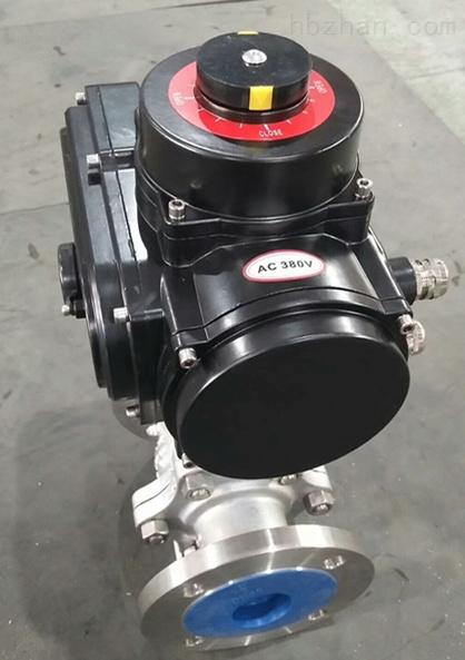 380V电动法兰球阀Q941F