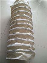 耐磨环保防尘水泥伸缩布袋供应