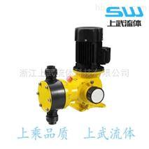 GB型精密機械隔膜式計量泵 工作原理