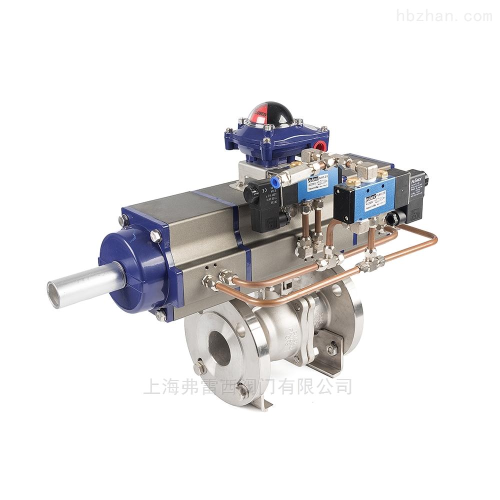 灌装行业调节球阀,灌装系统不锈钢法兰球阀