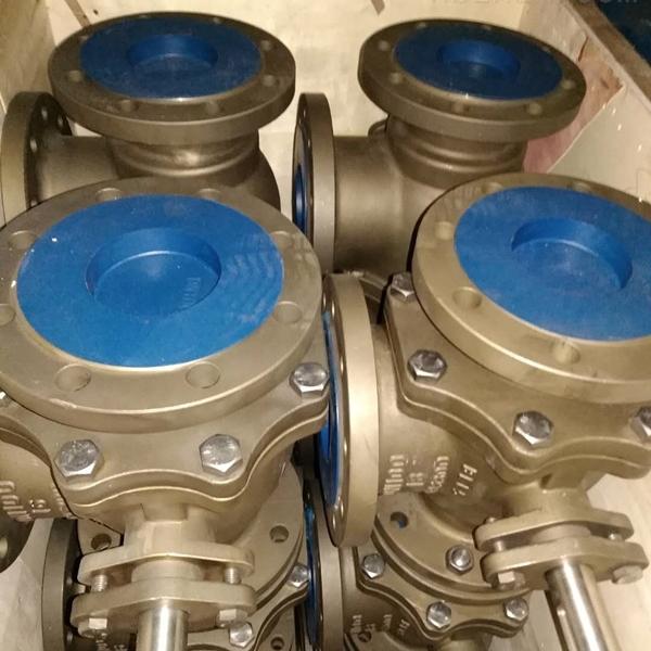 C95800镍铝青铜双联三通球阀