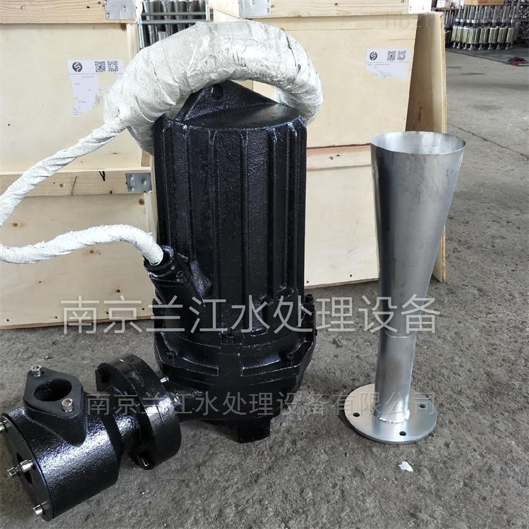 QSB1.5深水自吸式潜水射流曝气机