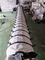 供應散裝機卸料筒 散裝頭伸縮布筒電廠