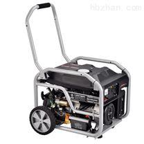 小型电启动5000瓦汽油发电机