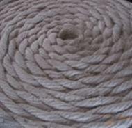 26mm石棉夹钢丝编织绳,无尘石棉防火绳