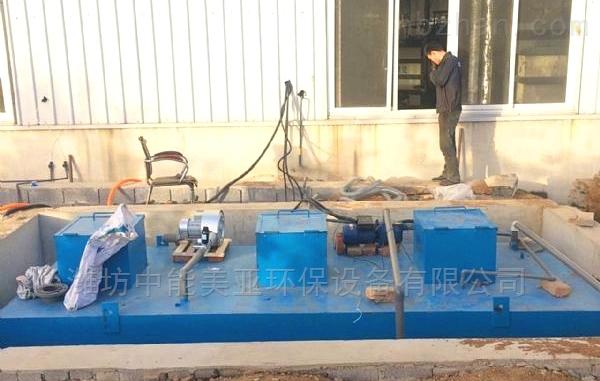 养猪场污水处理设备工艺设计