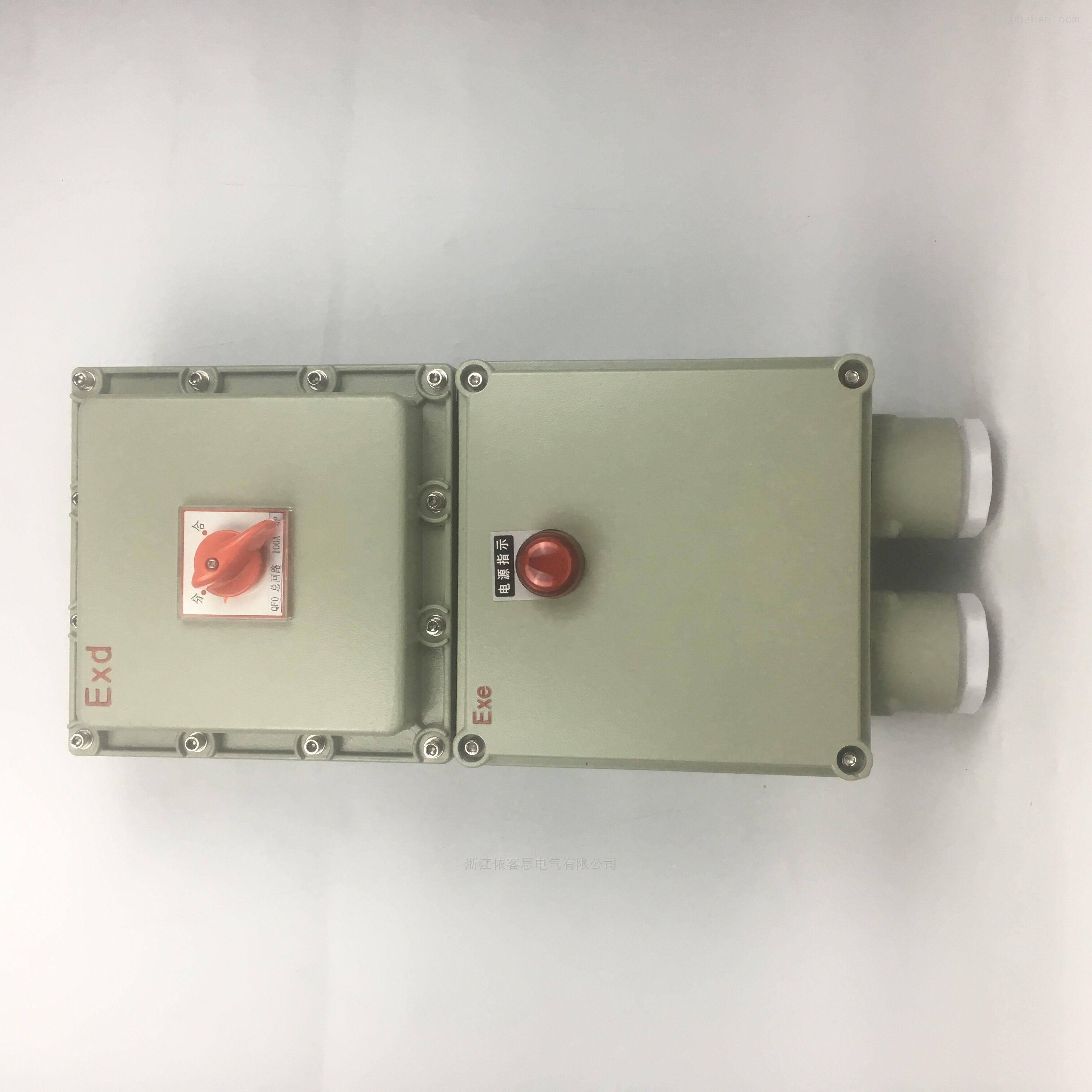 BLK52-250A防爆塑壳断路器开关箱控制箱