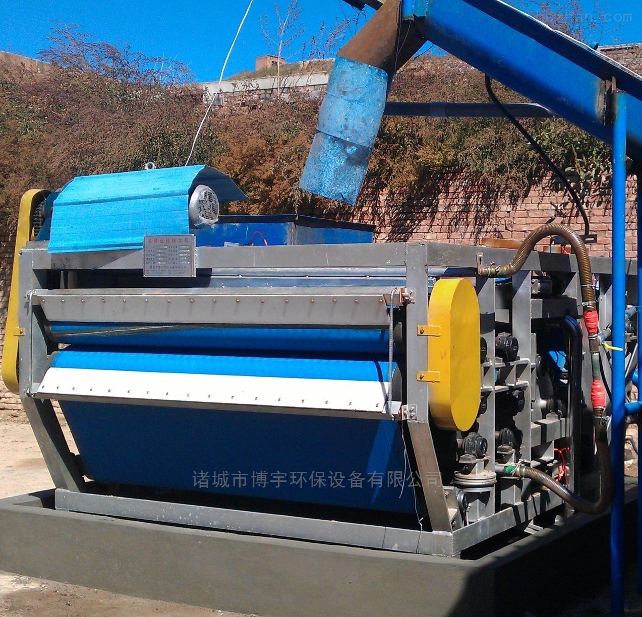 带式污泥压滤机|脱水机技术