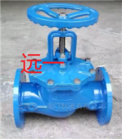 上海名牌产品球墨铸铁法兰截止閥J41X-16Q