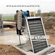 反捞式粗格栅除污机 回转栅条式清污机