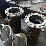 碳钢直通管道篮式过滤器