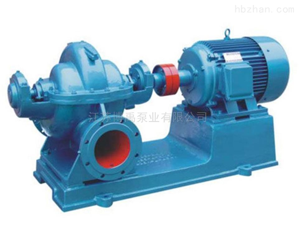 单级双吸中开泵型号参数及选型